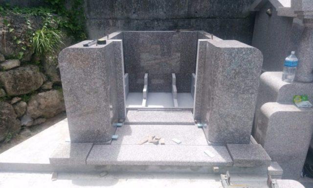 墓石工事2 o家 浦添市