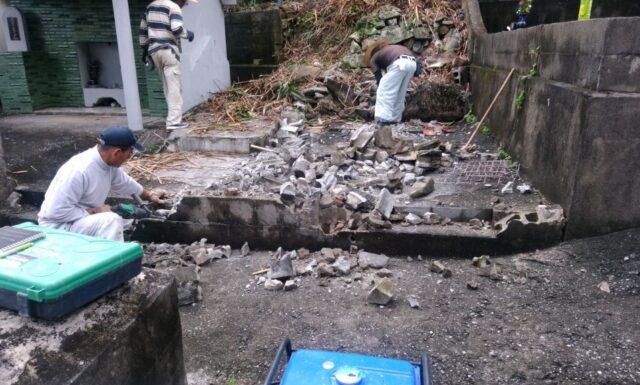 工事開始 o家 東村