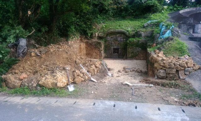 改修工事 a家 北中城村