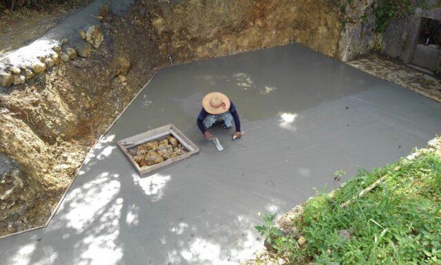 改修工事2 a家 北中城村