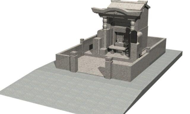 墓石工事2 y家 宮古島