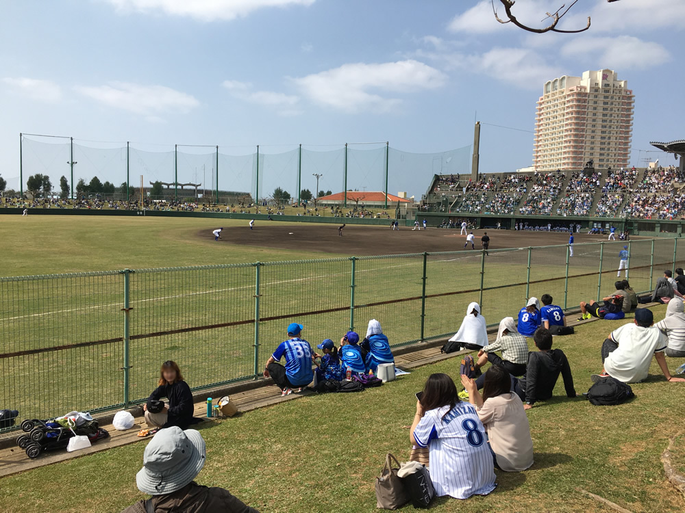 沖縄でのプロ野球キャンプ