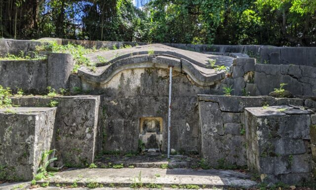 門中墓の改修工事 s門中墓 豊見城市