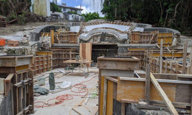 門中墓の改修工事⑤ S門中墓 豊見城市