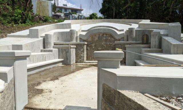 門中墓の改修工事⑨ S門中墓 豊見城市