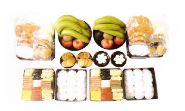 お供え重箱料理 (ウサンミ)